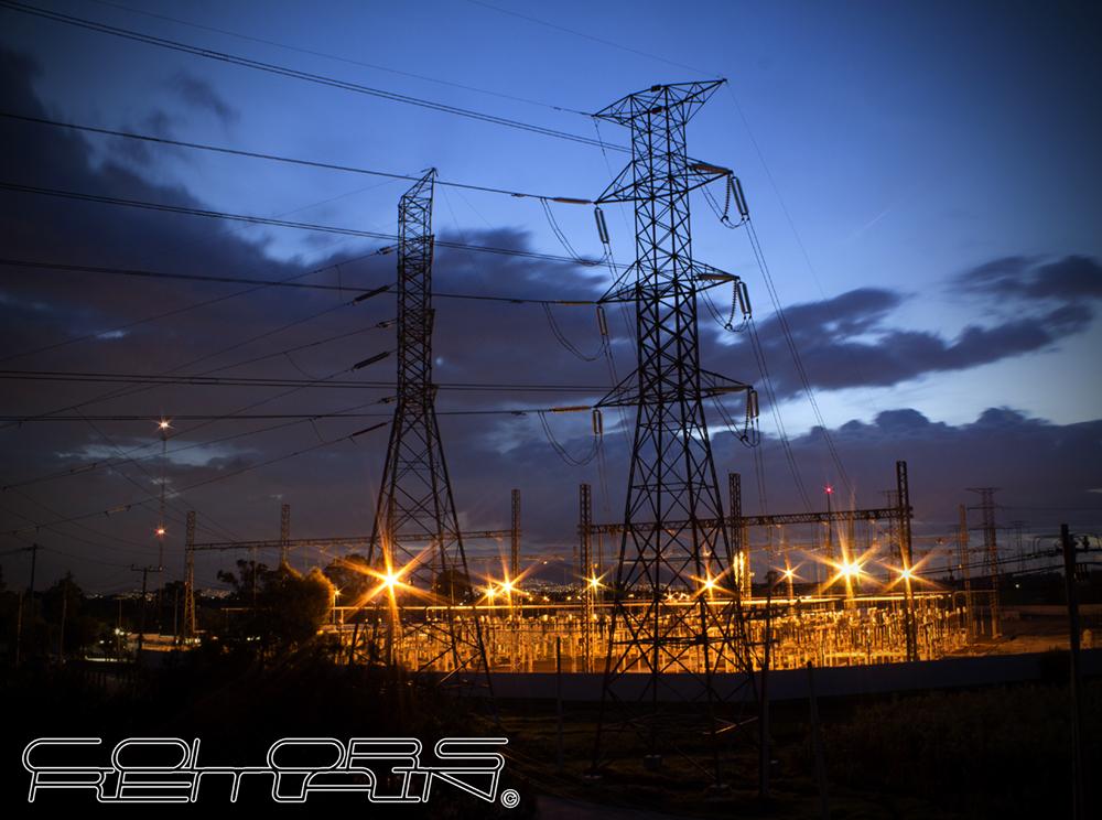 Planta Electrica en Texcoco